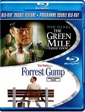 NEW BLU-RAY - THE GREEN MILE + FORREST GUMP - TOM HANKS DOUBLE FEATURE - CLASSIC