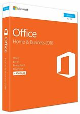 Microsoft Office Home & Business 2016 Word Excel PowerPoint Outlook OneDrive 1PC