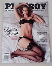 Playboy March 2013 Lingerie Special Jimmy Kimmel  Ashley Doris Chris Hardwick