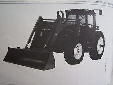 John Deere 840 Farm Tractor End Loader Operators Manual