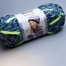 Schachenmayr Boston Mix 083 marine color 100g Wolle (11.95 EUR pro 100 g)