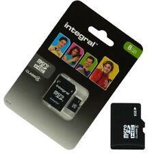 tarjeta de memoria Micro SD 8gb clase 4 Para SFR StarAddict 6 - 5 - 4 - 2