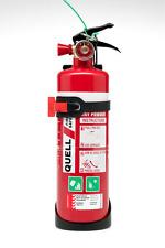 Quell 1kg Fire Extinguisher 10b E Kitchen Garage High Strength Mount Bracket