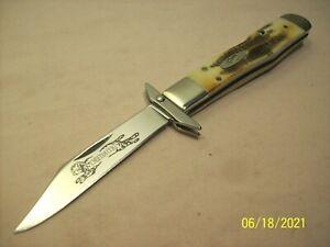 2007~CASE XX~6.511 1/2L~UNUSED~STAG BONE SWING GUARD LOCK BACK POCKET KNIFE~NEW~