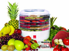 Ronco 5-Tray Electric Food Dehydrator -  lids are dishwasher safe - 125 WATTS