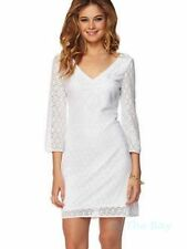 2a8efae4f8dc7e NEW $178 SZ S LILLY PULITZER ALDEN TUNIC DRESS RESORT WHITE CIRCLE KNIT LACE