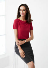 Draped Casual Knit Tops & Blouses for Women