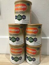 nutramigen hypoallergenic lactose free baby formula 12.6 0z cans (Pack of 5)