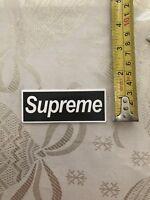 Supreme Laptop Sticker Decal Free Usa Shipping Black/white