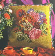 Vintage Ehrman Needlepoint Tapestry Kit Cushion CHART