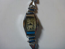 WATCH MONTRE SARDA BESANCON ART DECO CHROME BZ MADE IN FRANCE GIFT LADY BRACELET