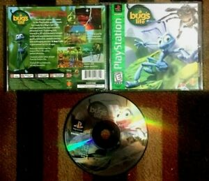 Disney's Bug's Life Complete (Sony PlayStation 1, 1998) VG Shape & Tested