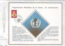 Feuillet CEF Belgique n°75  anniversaire O.M.S. cachet 7-4-73  Dinant