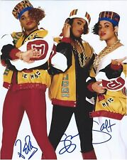 SALT-N-PEPA signed 8x10 PHOTO COA AUTO AUTOGRAPH SPINDARELLA PUSH IT RAP PROOF