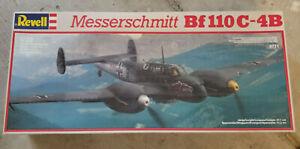 Revell 1/32 Messerschmitt Bf110C-4B Model Kit #4771