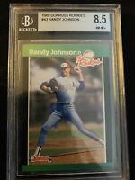 RANDY JOHNSON 1989 Donruss Rookies BGS 8.5 Mariners Diamondbacks RC