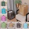 Fashion Folding Laundry Basket Bag Washing Cloth Collapsible Storage Hamper Bag
