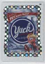 2012 Topps Wacky Packages All-New Series 9 Flash Foil #34 Yuck Card 0f2
