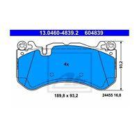 ATE 13.0460-4839.2 Bremsbelagsatz, Scheibenbremse  Links für Mercedes-Benz SL