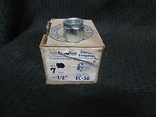 Appleton EC-50 1/2 Conduit Coupling Lot of 7 **New**