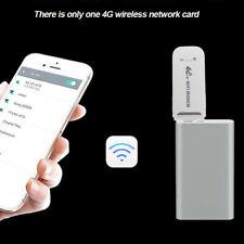 Unlocked 4G LTE WIFI Wireless USB Dongle Mobile Broadband 150Mbps Modem Sim Card