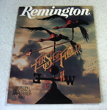 REMINGTON FIREARMS 1982 gun catalog