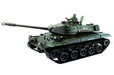 RC carro armato WALKER BULLDOG m41 con funzione colpo, batteria NUOVO 23017