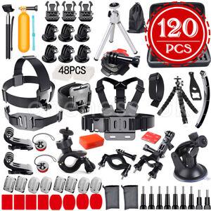7/39/62/120PCS GoPro Accessories Set Hero8 7 6 HD Action Camera Sport Kit Bundle