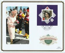 NEVIS 25 JULY 2012 DIAMOND JUBILEE M/SHEET O/S VLE FIRST DAY COVER