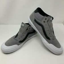 406bcfb39618 Vans Style 112 Mid Pro Frost Gray White Men s 13 Skate Shoes VN0A3DOVOV2