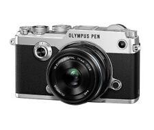 Olympus PEN-F 20.3MP Digitalkamera - Silber (Kit mit 17mm Objektiv)