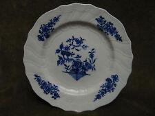 Assiette porcelaine tournai décor Ronda (A) (Belgian porcelain tournai plate)