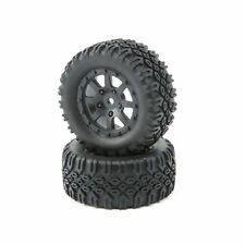 Team Losi FF/RR Tire, Mounted (2): Mini 8IGHT-DB (LOS41007)