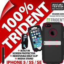 Neuf Trident Kraken Ams Résistant Étui Rigide Robuste pour Apple Iphone 5/5s /