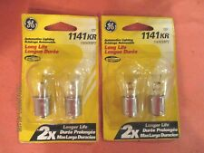 1141KR-GE--LOT--OF--4--LONG--LIFE---Back Up Light Bulb-  1141KR/BP2