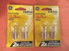 1141KR-GE--LOT--OF--4--LONG--LIFE---Back Up Light Bulb-  1141KR/BP2