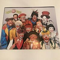 Ringling Brothers Circus 2002 Clowns Public Relations Photo Card Rare Promo