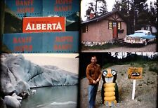 16mm Home Movies 1950s Alberta BC (3 reels/1200 ft) Vibrant color