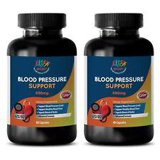 Original Blood Pressure Support Complex Ultimate Pills (2 Bottles, 120 Capsules)