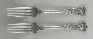 Sterling Tiffany & Co. OLYMPIAN (Pat. 1875) lunch forks
