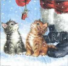 630.151 Le Suh 2 Sheets A4 Christmas Decoupage Cat /& Dog Star Pyramide