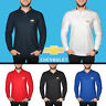 Chevrolet Long Sleeve Polo T Shirt COTTON EMBROIDERED Auto Car Logo Mens Gift