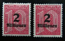 Deutsches Reich Dienst Mi 97 x+y **