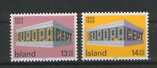 ICELAND-MNH**  SET-EUROPA CEPT-1969.