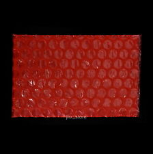 """25 Red Anti Static Bubble Envelopes Wrap Bags 2.5"""" x 3""""_65 x 75mm_Small Size"""