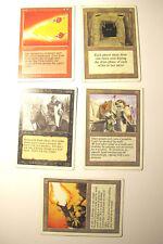 MTG Magic the gathering - lot de 5 cartes edition REVISED