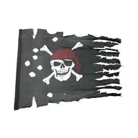 Piratenflagge rustikal 73607-5 Flagge