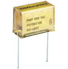 Kemet 0.1uF 20% 250VAC Metallized Paper RC Unit Capacitor PMR209MC6100M100R30