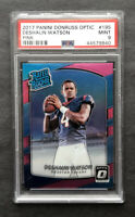2017 Donruss Optic #195 Deshaun Watson Rated Rookie RC Pink Prizm PSA 9 BGS 9.5?
