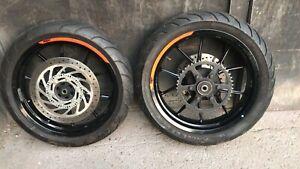 KTM Duke 125/390 2018 Wheels And Tyres
